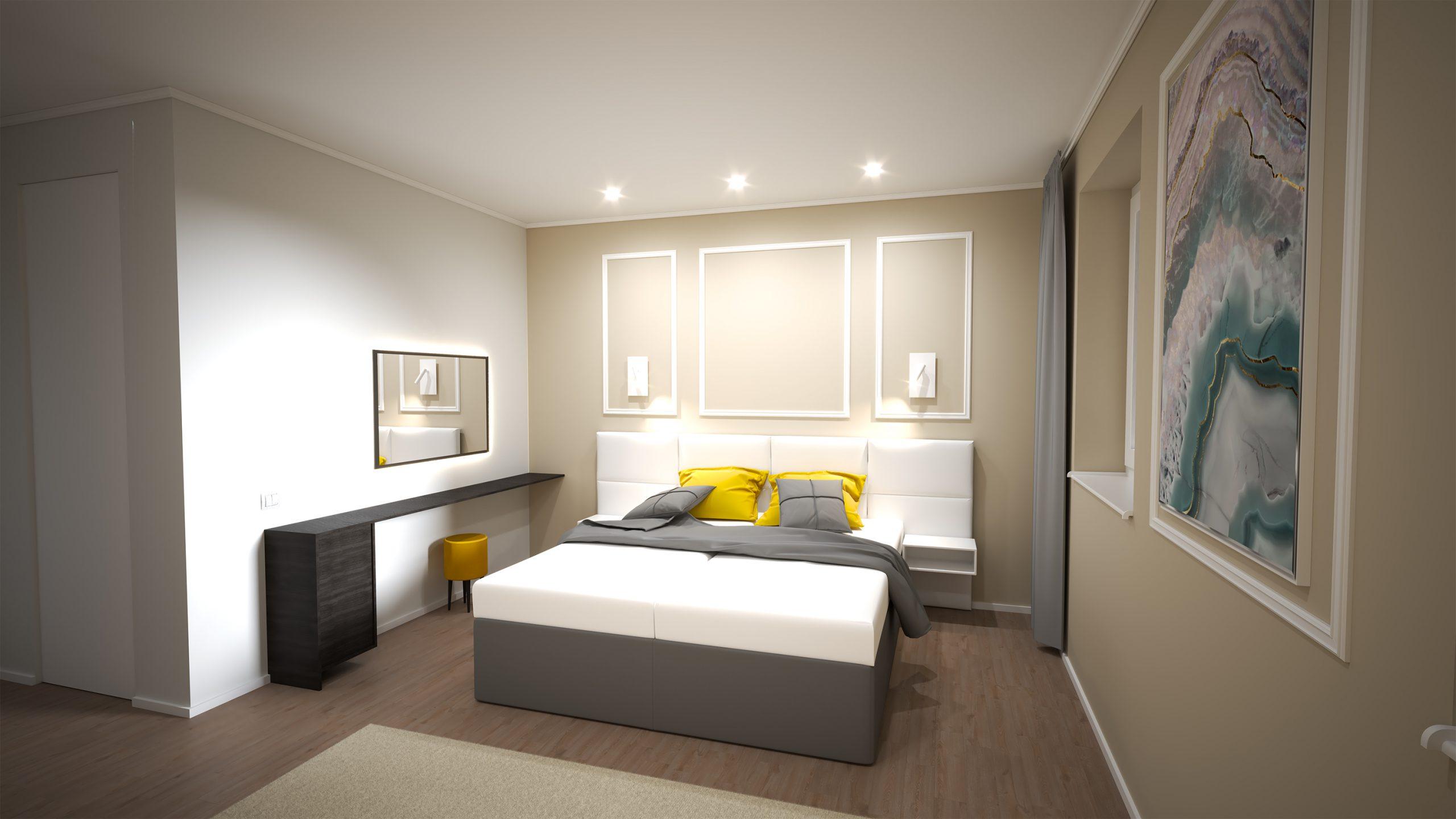 1 Návrh interiéru pre Hotel - Trenčianske Teplice