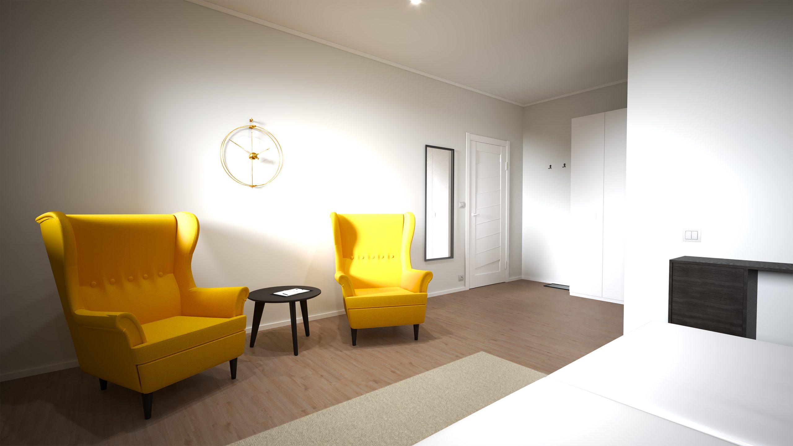 Návrh interiéru pre Hotel - Trenčianske Teplice