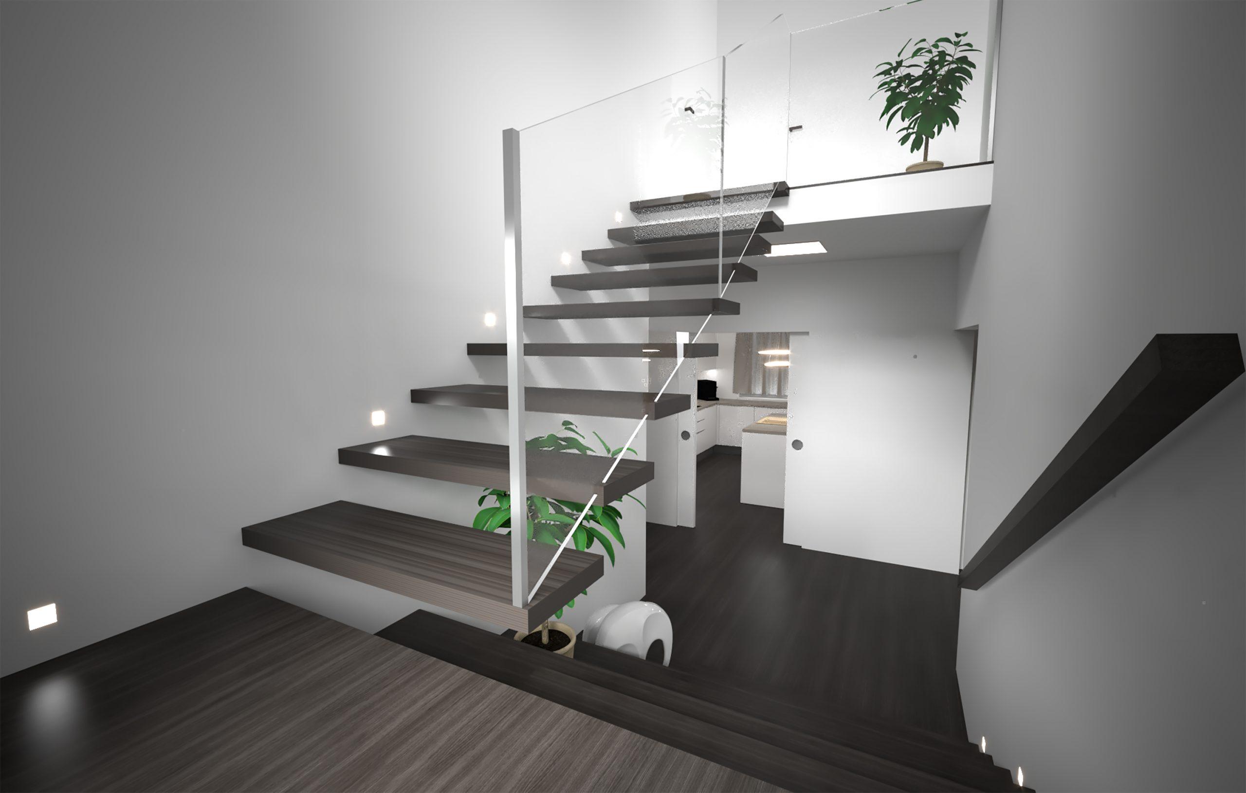 Návrh interiéru rodinného domu - Skalka nad Váhom