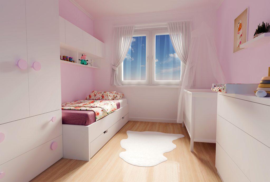 Návrh detskej izby na mieru pre Sofi