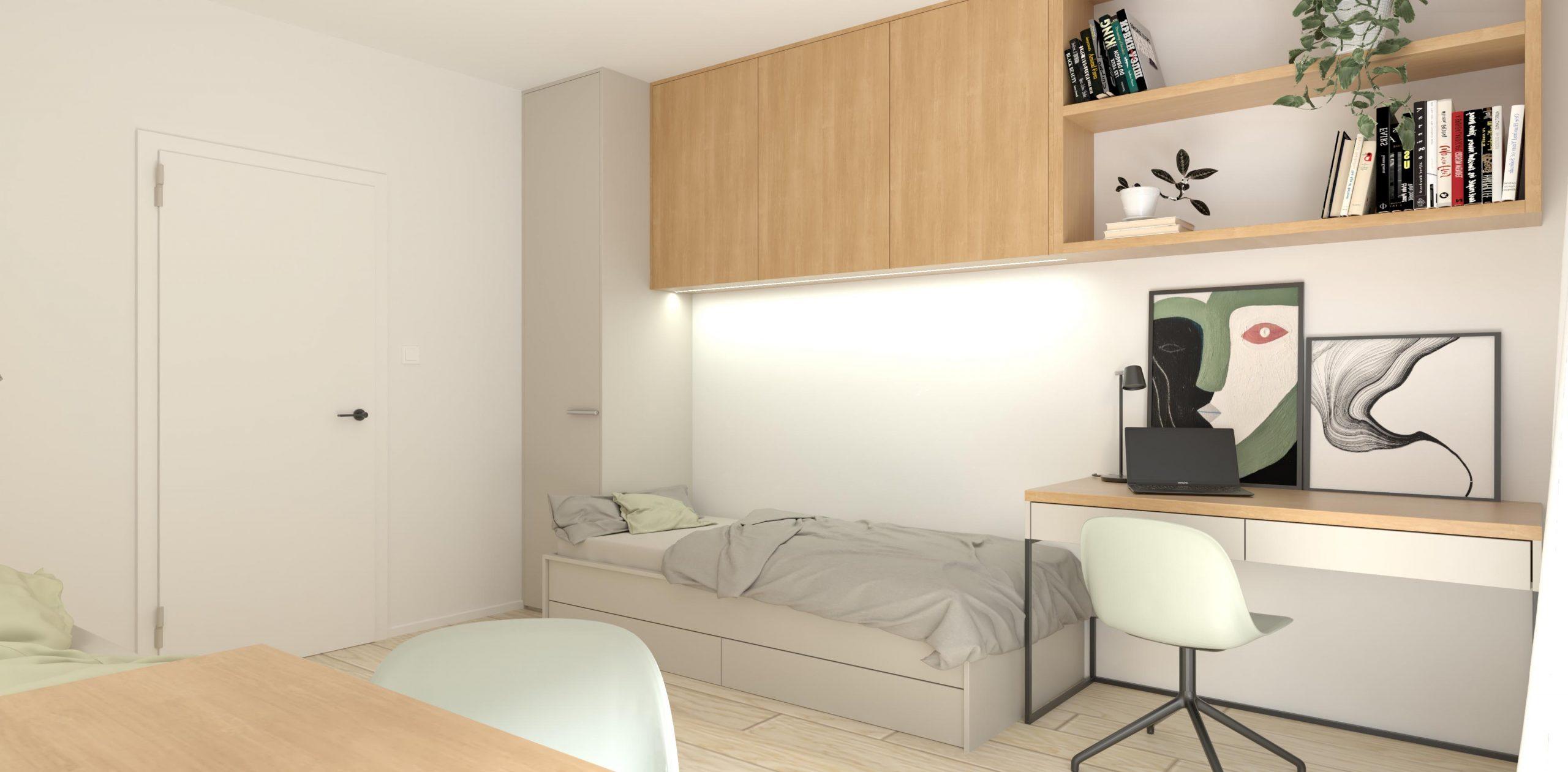 Návrh na mieru 3 izbového bytu v Beluši (Beluša)