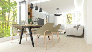 Jedáleň s obývacou izbou na mieru Beluša - BYVAKOM