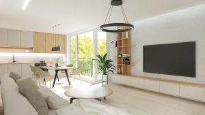 Kuchyňa a obývacia izba na mieru Beluša - BYVAKOM
