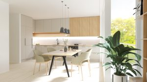 Kuchyňa na mieru s jedálňou Beluša - BYVAKOM
