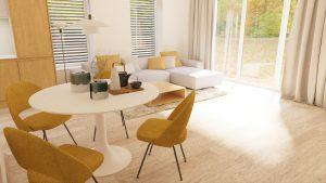 Obývacia izba 4 na mieru rodinný dom Zamarovce