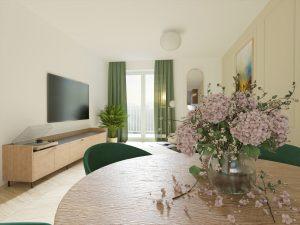 Obývacia izba na mieru - BYVAKOM