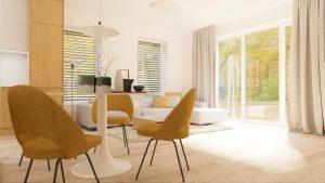 Obývacia izba na mieru rodinný dom Zamarovce