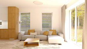 obývacia izba 1 na mieru rodinný dom Zamarovce