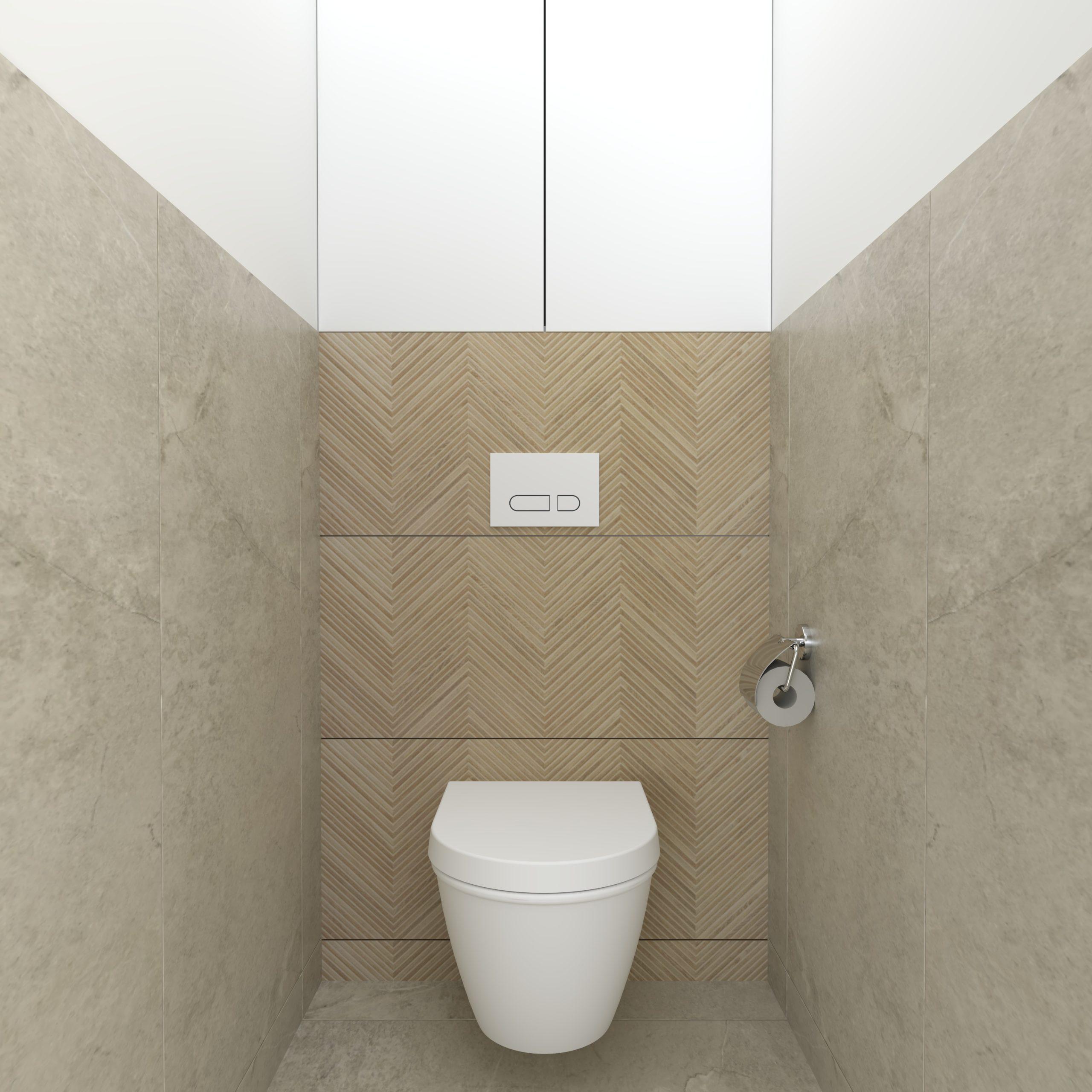 Návrh kúpelne a WC do rodinného domu v obci Trenčianska Teplá