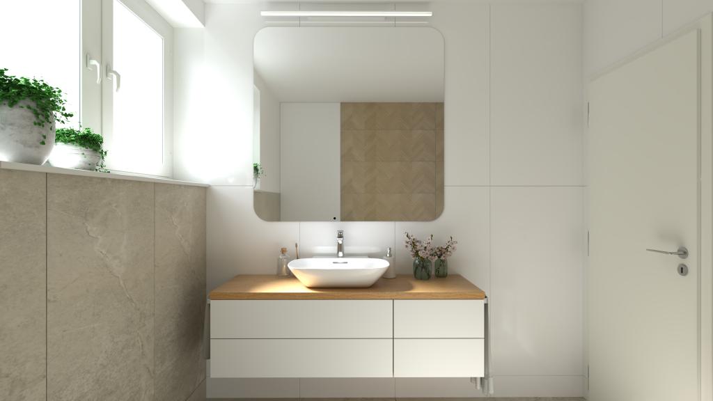 Návrh kúpelne do rodinného domu v obci Trenčianska Teplá