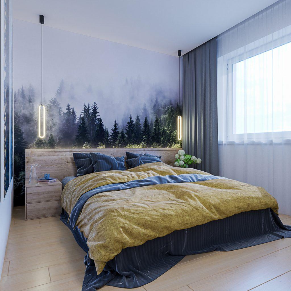 Návrh na mieru 2 izbového bytu - Motešice