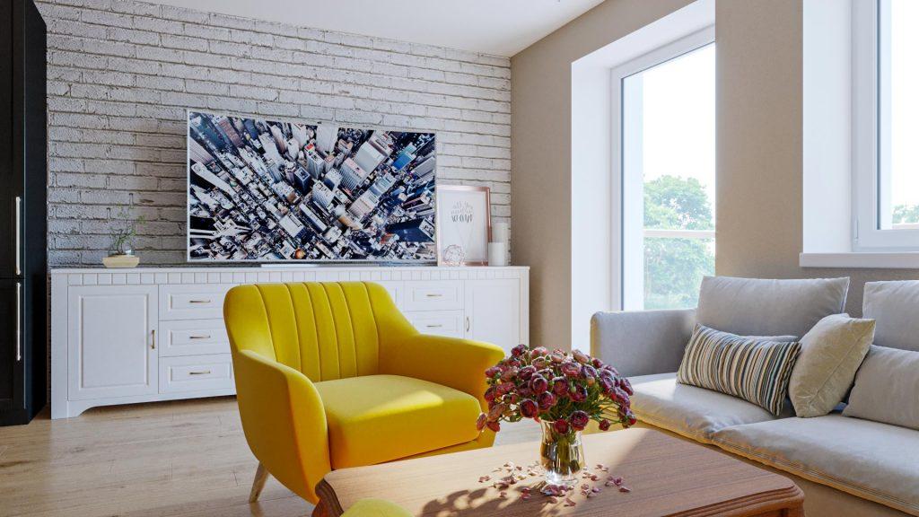 Návrh na mieru 3 izbového bytu - Motešice