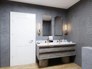 Kúpelňa na mieru podľa vlastných predstáv - BYVAKOM interiérový dizajn Bratislava