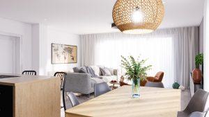 Obývacia izba na mieru Limbach - BYVAKOM interiérový dizajn Trenčín 1
