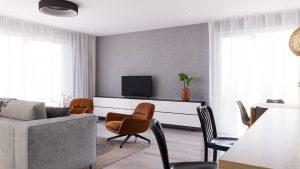 Obývacia izba na mieru Limbach - BYVAKOM interiérový dizajn Trenčín
