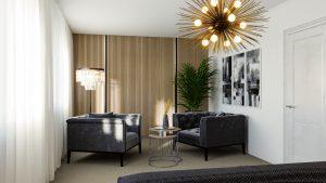 Spálňa na mieru podľa vlastných predstáv - BYVAKOM interiérový dizajn Bratislava